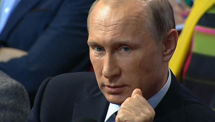 Путин: коллапса экономики нет и не будет