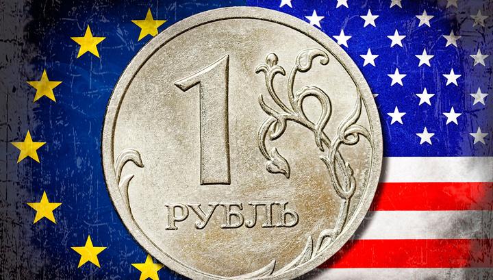 Рубль незначительно вырос к доллару и значительно — к евро