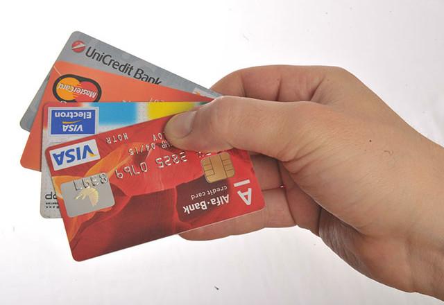 В России используется только каждая пятая выпущенная кредитная карта