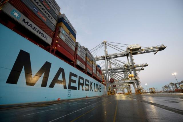 Чистая прибыль Maersk во II кв. упала до $101 млн