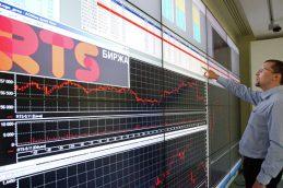 Российский рынок акций умеренно снижается, в лидерах бумаги «Мечела»