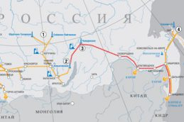 «Газпром» построил 500 км «Силы Сибири»