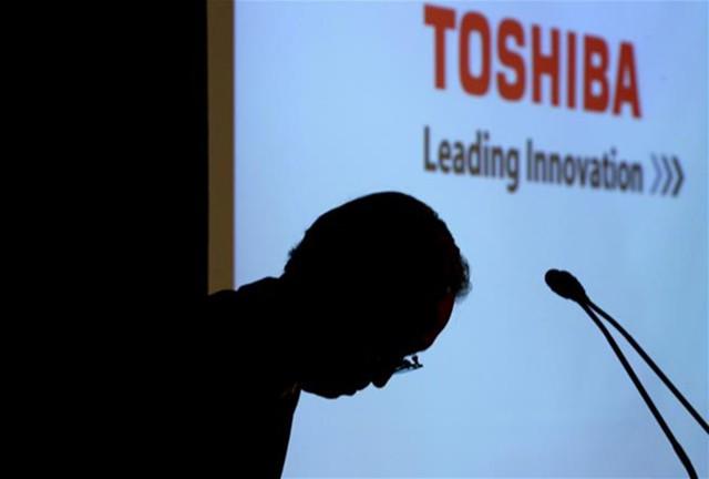 Квартальный убыток Toshiba составил $5,6 млрд