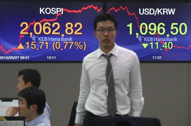 Рынки Азии снижаются на опасениях по поводу КНДР