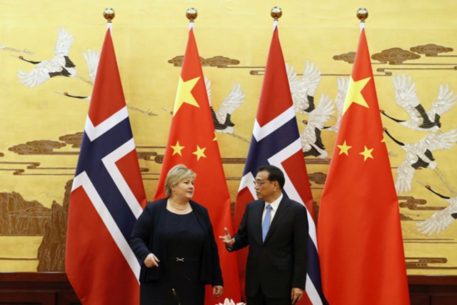 КНР и Норвегия ведут переговоры о свободной торговле