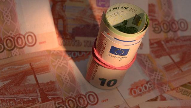 Официальный курс евро на пятницу вырос до 62,73 рубля