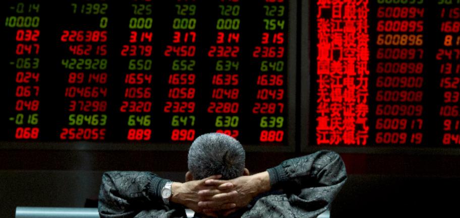 Крупнейший крах в истории фондового рынка произошел в Китае