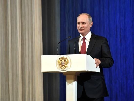Путин снизил себе зарплату на 10 процентов