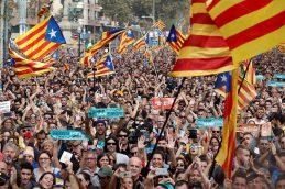 Курс евро к доллару упал до минимума с 20 июля на фоне провозглашения независимости Каталонии