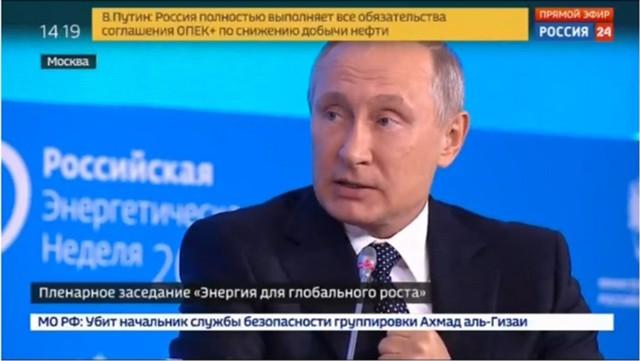 Путин: энергоемкость ВВП России снизится в 1,5 раза