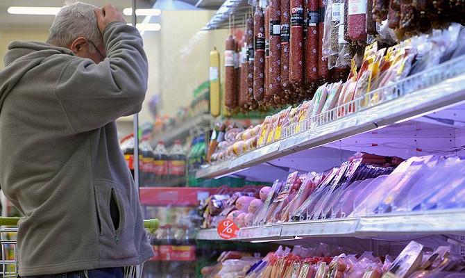 Недельная инфляция в России ускорилась до 0,1%