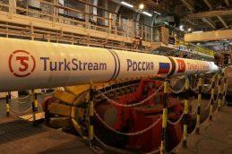 Строительство российской части «Турецкого потока» завершено