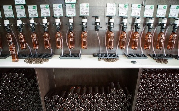 Магазин разливного пива, как бизнес