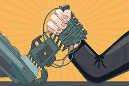 Роботы против управляющих