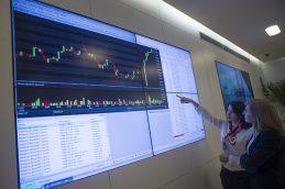 На Мосбирже сообщили о рекордных показателях рынка акций РФ в 2018 году
