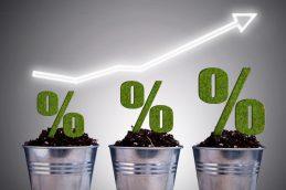Максимальная ставка топ-10 банков по рублевым вкладам достигла 7,43%