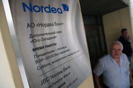 Нордеа Банк решил отказаться от новых российских клиентов