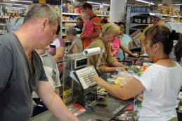 Средний чек россиян сжался до минимума за год