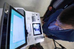 Российские банки тестируют биометрические банкоматы