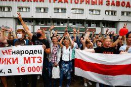 Коллективный портрет бастующих предприятий Белоруссии: «Сидят на шее у России»