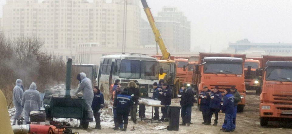Свалку строительного мусора возле МГУ ликвидируют в кратчайшие сроки