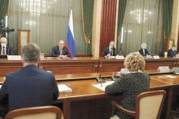 Матвиенко сделала Мишустину комплимент за «продвинутое правительство»
