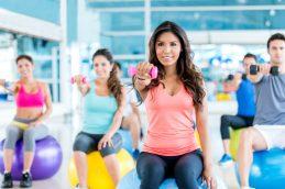 Занятия фитнесом для женщин