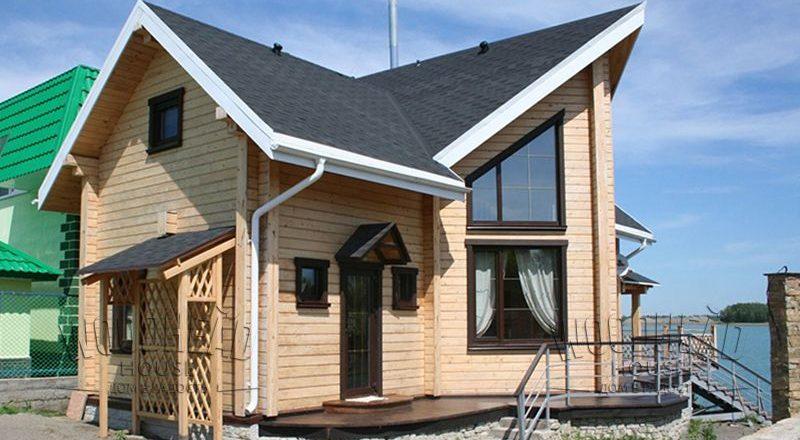 Строительство дома из клееного бруса: как сэкономить