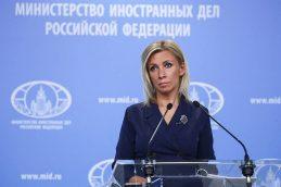 Захарова прокомментировала слова начальника штаба обороны Британии об угрозе со стороны РФ